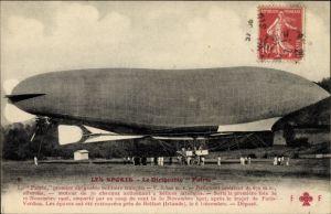 Ak Sports d'Aviation, Dirigéable Patrie, Französisches Luftschiff