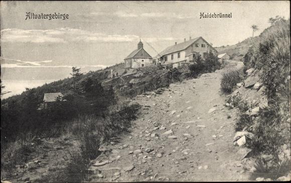 Ak Bělá pod Pradědem Waldenburg Altvatergebirge Reg. Olmütz, Haidebrünnel