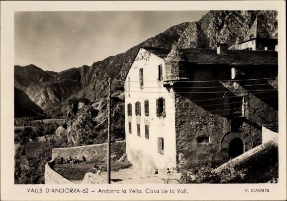 Ak Valls d'Andorra, Andorra la Vella, Casa de la Vall