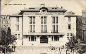 Ak Oran Algerien, La Nouvelle Poste, Partie am Neuen Postamt