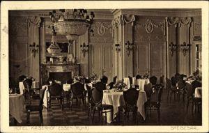 Ak Essen im Ruhrgebiet Nordrhein Westfalen, Hotel Kaiserhof, Speisesaal