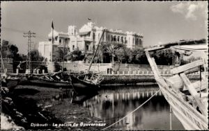 Ak Dschibuti, Le palais du Governeur, Palast des Gouverneurs