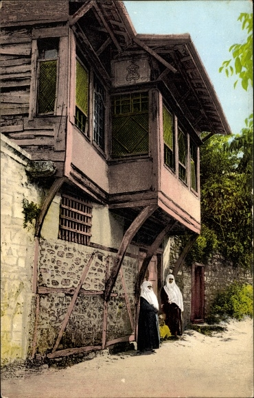 Ak Konstantinopel Istanbul Türkei, quartier turc à Stamboul