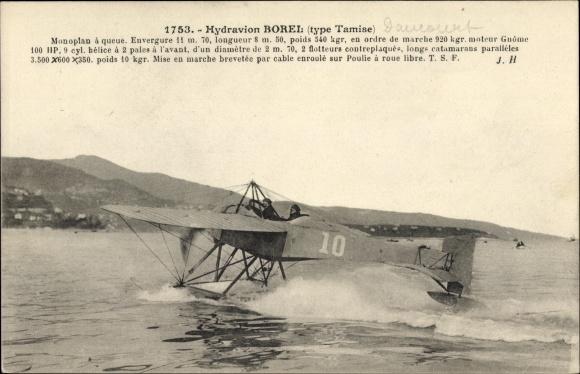 Ak Monaco, Hydravion Borel, Type Tamise, Wasserflugzeug