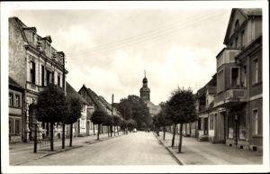 Ak Neustadt Dosse in Brandenburg, Robert Koch Straße, Straßenpartie