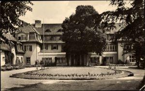 Ak Neu Fahrland Potsdam in Brandenburg, Blick auf das Sanatorium Heinrich Heine