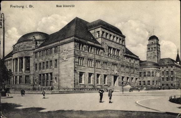 Ak Freiburg im Breisgau Baden Württemberg, Blick auf die neue Universität