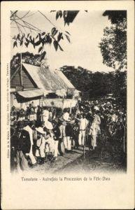 Ak Tamatave Toamasina Madagaskar, Autrefois la Procession de la Fête Dieu