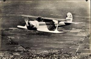 Ak Sportvliegtuig Beechcraft C 17, NC 12584, Propellermaschine