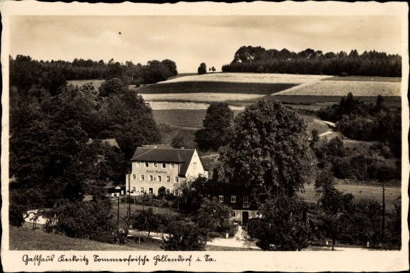 Ak Hellendorf Bad Gottleuba in Sachsen, Gasthaus Keckritz