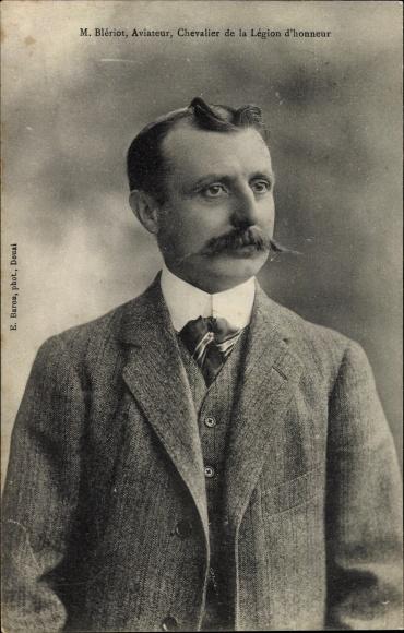 Ak Louis Blériot, Aviateur, Chevalier de la Légion d'honneur