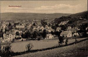 Ak Burkhardtsdorf im Erzgebirge Sachsen, Blick auf Ortschaft und Umgebung