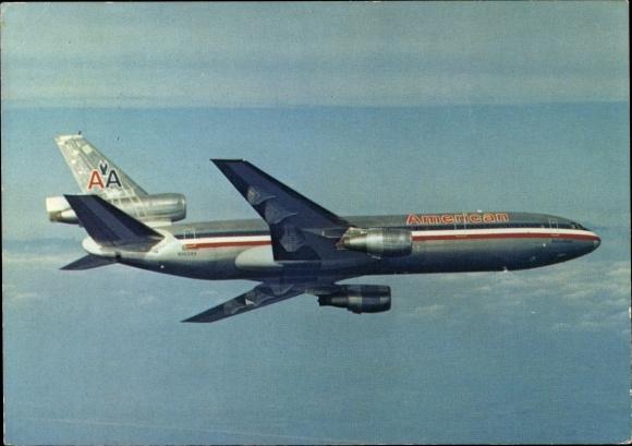 Ak Douglas DC 10, Passagierflugzeug, American Airlines