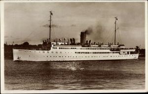 Ak Dampfschiff MS Hansestadt Danzig, Norddeutscher Lloyd Bremen