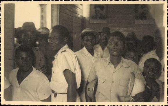 Datierung eines kamerunischen Mannes