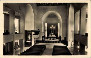 Ak Jablonec nad Nisou Gablonz an der Neiße Reg. Reichenberg, Vnitrek kostela, Kirche, Innenansicht