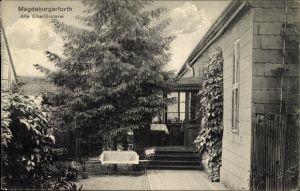 Ak Magdeburgerforth Möckern im Jerichower Land, Alte Oberförsterei