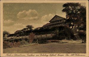 Ak Ferch Schwielowsee im Landkreis Potsdam Mittelmark, Gasthaus zur Erholung, Bes. Alb. Habermann