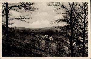 Ak Burkhardtsdorf im Erzgebirge Sachsen, Blick auf oberen Ortsteil