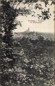 Ak Kronberg im Taunus Hessen, Blick vom Mammolshain, Panorama vom Ort