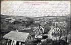 Ak Mohlsdorf Teichwolframsdorf in Thüringen, Blick auf Ortschaft und Umgebung