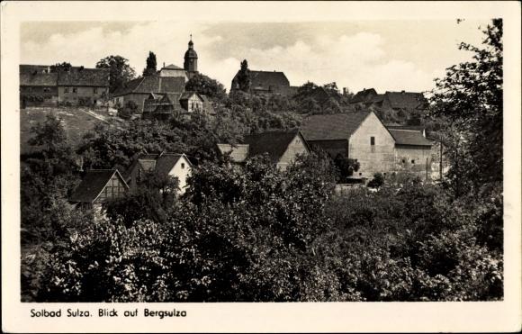 Ak Bad Sulza im Weimarer Land Thüringen, Blick auf Bergsulza
