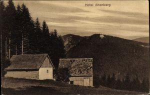 Ak Neubois Gereuth Elsass Bas Rhin, Blick auf Hotel Altenberg