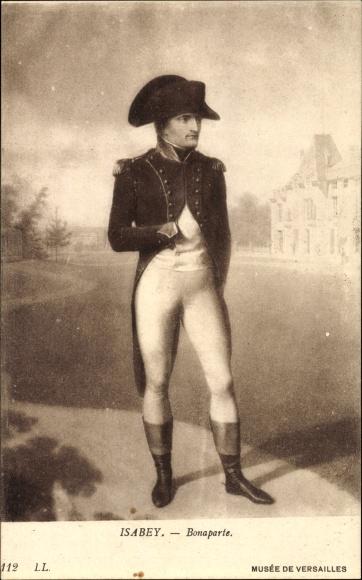 Künstler Ak Isabey, Napoleon Bonaparte, Musee de Versailles