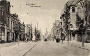 Ak Tschernjachowsk Insterburg Ostpreußen, Partie an der Hindenburg Straße, Konditorei Cafe Lehmann
