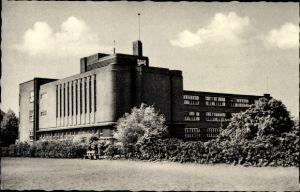Ak Lünen in Nordrhein Westfalen, Gymnasium, Außenansicht