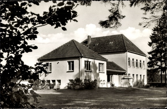 Ak Klecken Rosengarten in Niedersachsen, Blick auf Haus Tanneck