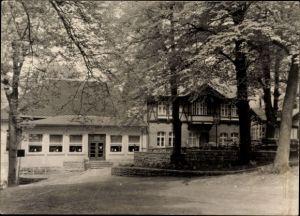 Foto Ak Königslutter an der Elm, Waldgaststätte Lutterspring, Besitzer H. Wasmus