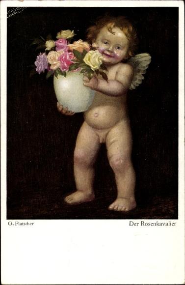 Künstler Ak Flatscher, G., Der Rosenkavalier, Liebesengel, Primus Nr 5116