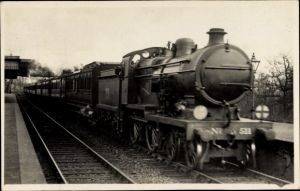 Foto Ak Britische Eisenbahn, Dampflok, Steam Locomotive,Continental Boat Express,Nr 511,Photo Salmon