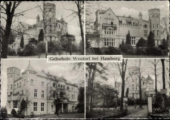 Ak Wentorf Bei Hamburg In Schleswig Holstein Ansichten Von Der