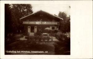 Foto Ak Gräfelfing Oberbayern, Haus in der Irmenfriedstraße 44