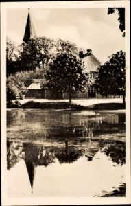 Ak Schönwalde am Bungsberg in Ostholstein, Jugendherberge, Partie am Teich