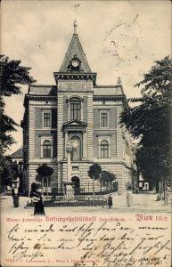 Ak Wien 3. Landstraße, Wiener Freiwillige Rettungsgesellschaft, Radetzkystraße