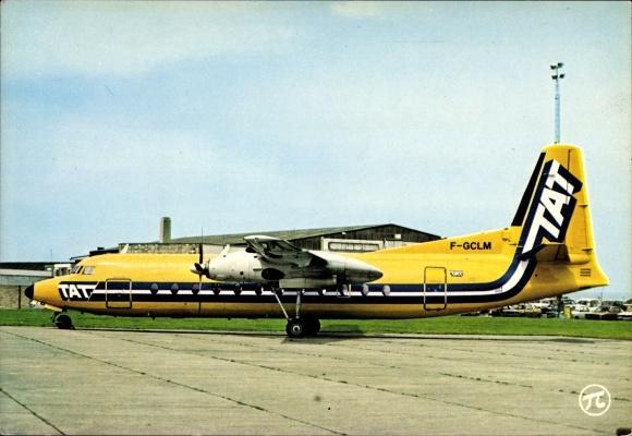 Ak Passagierflugzeug, TAT, F-GCLM, Fokker F-27