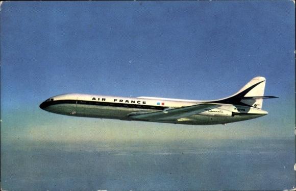 Ak Air France Caravelle, Französisches Passagierflugzeug