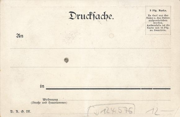 Mechanische Ak Deutsches Kaiserhaus, Kronprinz Wilhelm von Preußen, Germania 1