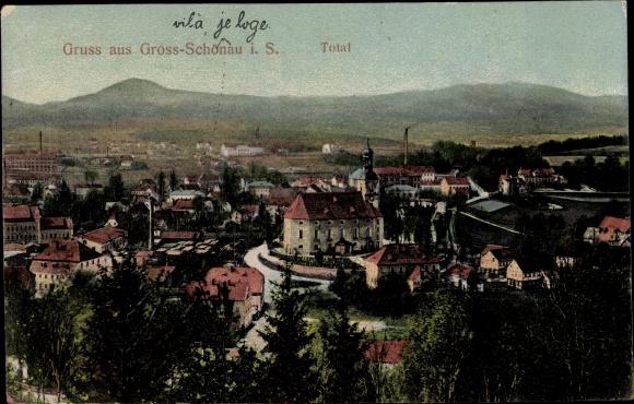 Ansichtskarten Görlitz Zgorzelec Blick über Die Stadt Ansichtskarte Oberlausitz 1914