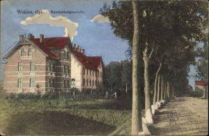 Ak Snamensk Wehlau Ostpreußen, Haushaltungsschule