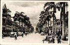 Ak Paramaribo Suriname, Maagdenstraat, Straßenpartie in der Stadt