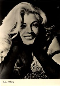 Ak Schauspielerin Anita Ekberg, Boccaccio 70, Blond, Portrait