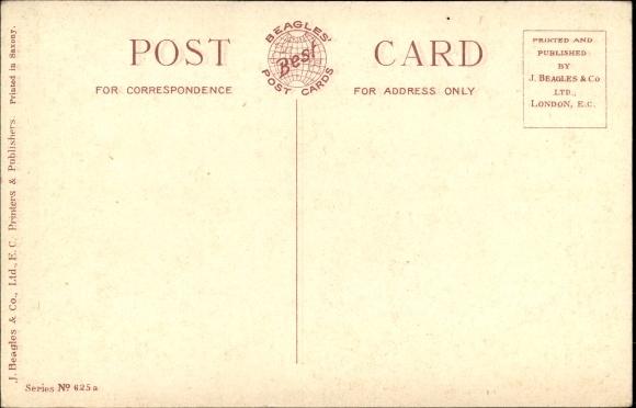 Passepartout Ak Gluckwunsch Geburtstag Birthday Wishes Kustenpartie In England Beagles Postcard 1