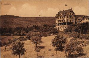 Ak Baden Baden im Stadtkreis Baden Württemberg, Fremersberg, Hotel und Café Gretel, Bes. Leinweber