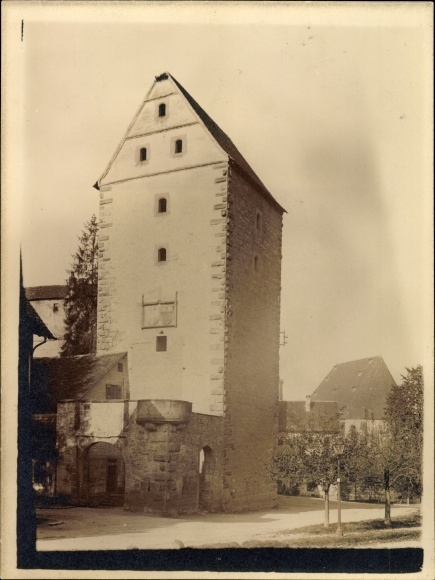 Foto Schwäbisch Hall in Baden Württemberg, Turm