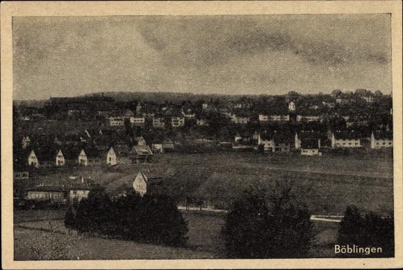 Ak Böblingen in Baden Württemberg, Panorama vom Ort