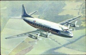 Ak Passagierflugzeug, Air France, Vickers Viscount